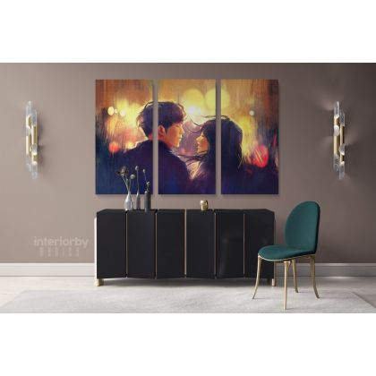 Wicked Ways Killabyte Feat Danyka Nadeau Canvas with Frame/Roll Modern Print Poster Living Room Abstract Mural Gift Wall Hangings