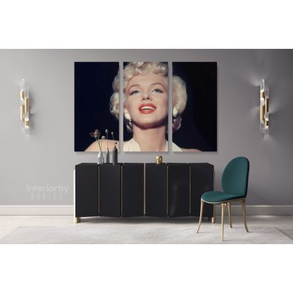 Marilyn Monroe Canvas American Model Wall Artwork Hangings Marilyn Monroe Actress Pop Naked Sexy in White Dress Young Picture Costume