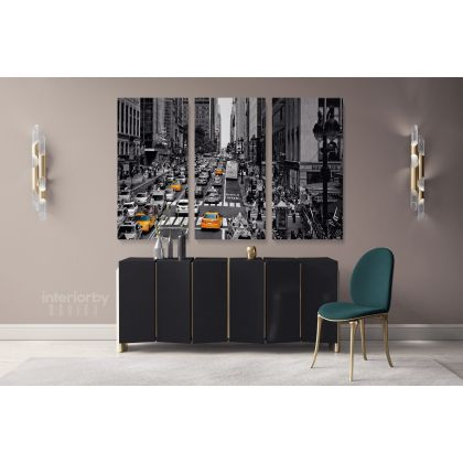 Photography New York Black and White Artwork Canvas Frame Buildings and Cites Print Poster Living Room Decor Bedroom Wall Hangings Mural Gift