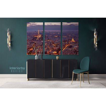 Eiffel Tower Paris France Canvas Wall Art Images Pictures Of Paris Canvas Print Poster Decor Landscape Print Home Decor Bedroom Mural Gift