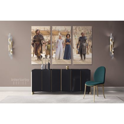 Movie Art Game of Thrones Canvas with Frame / Rolled Canvas Kids Home Decor Living Room Bedroom Wall Art Mural Hangings Gift Print Poster