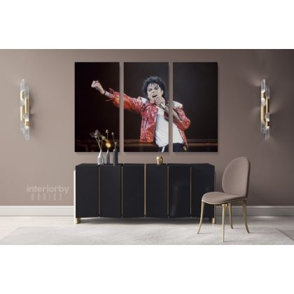 Michael Jackson King of Pop Singers Canvas Mj Dance Moves Print Personalised Poster Framed Canvas