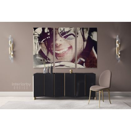 Michael Jackson King Of Pop Personalised Singer Canvas Dance Moves Print Poster