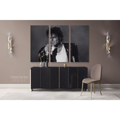 Legend Michael Jackson King Of Pop Singer Personalised Canvas Dance Moves Print Poster Frame