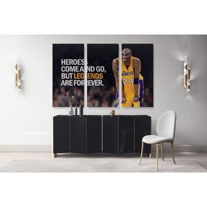 Kobe Bryant Last Game Basketball Player Mamba Mentality Motivational Quotes Photo Print Poster Home Decor Sports Wall Art Mural Hanging Gift