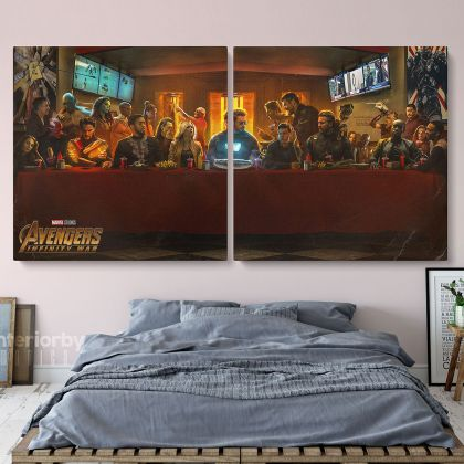 Avengers Infinity War All Characters Superhero Canvas