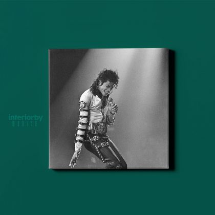 Michael Jackson Personalised Quote Canvas Mj Dance Moves Wall Art Print Poster Framed Canvas