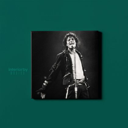 Famous Michael Jackson King of Pop Quote Canvas Mj Dance Moves Wall Art Print Poster Framed Canvas