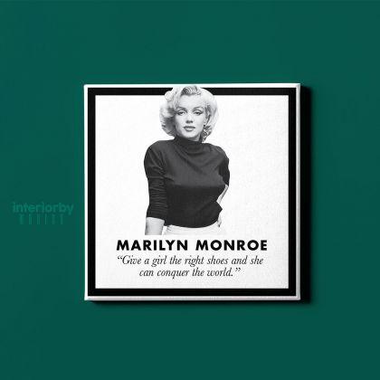 Marilyn Monroe Canvas American Model Canvas