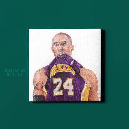 Kobe Bryant Player Photo Print on Canvas