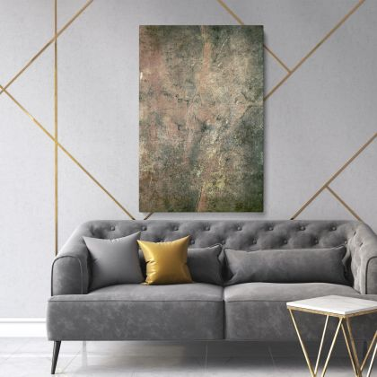 Modern Abstract Marble Painting Art Photo Print Canvas with Frame Hangings Gift