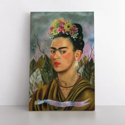 Frida Kahlo Photo Print on Canvas Wall Art Home Decor Ready to Hang Canvas Art Home Decoration Wall Art Home Decor