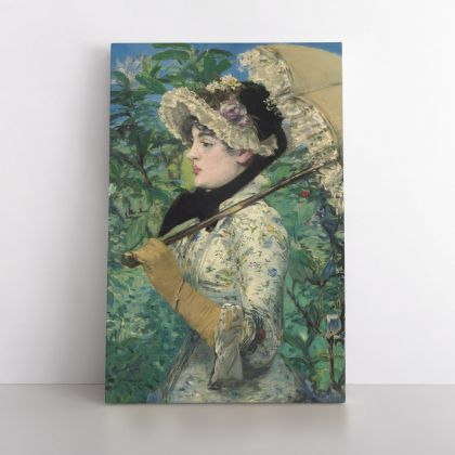 Edouard Manet Painting Photo Print on Canvas, Wall Art Home Decor, Ready to Hang Canvas, Wall Art, Home Decoration