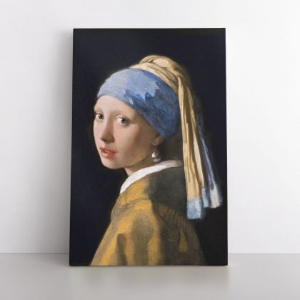 Girl with a Pearl Earring Canvas Johannes Photo Print on Canvas, Wall Art Home Decor, Ready to Hang Canvas, Wall Art, Home Decoration
