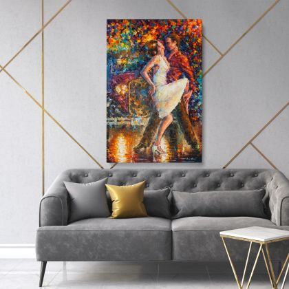 Famous Palette Knife Art Oil Painting by Leonid Afremov Photo Print on Canvas Home Decor Wall Posters Canvas Gift