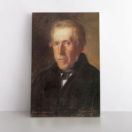 Henryk Hector Siemiradzki Famous Portrait Painting Print on Canvas