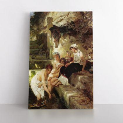 Henryk Hector Siemiradzki Painting Academic Art Photo Print on Canvas