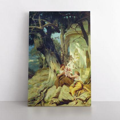 Henryk Hector Siemiradzki: Famous Artist Painting Print on Canvas