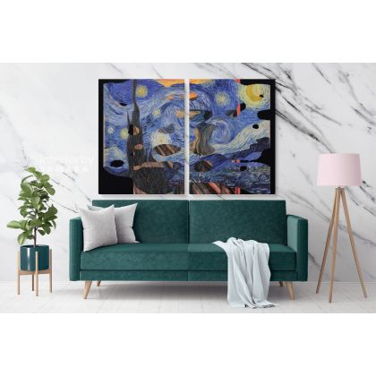 Vincent Van Gogh Most Famous Artworks in History Painting Canvas Photo Print Home Decor Wall Mural Gift