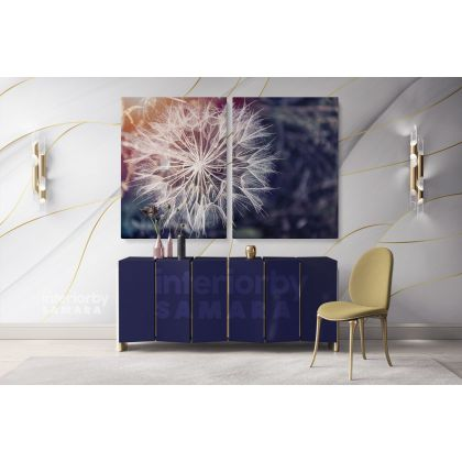 Boy Painting Photo Poster Print in Canvas with Frame Original Wall Artwork Painting in Canvas Wall Art Mural