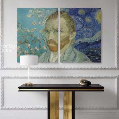 Vincent Van Gogh Painting Photo Print on Canvas Posters Home Decor Wall Mural Ready to Hang Gift