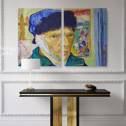 Vincent Van Gogh Original Painting Famous Portraits Photo Print on Canvas Posters Home Decor Wall Mural Gift