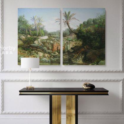 Famous Henryk Hector Siemiradzki Artist Painting Photo on Canvas