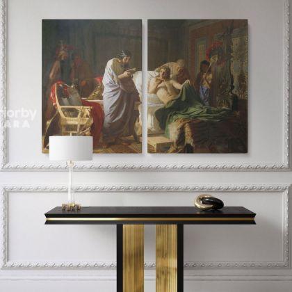 Ancient Greek Medicine Paitning by Henryk Hector Siemiradzki Photo Print on Canvas
