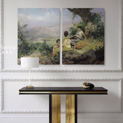 Henryk Hector Siemiradzki Artist: Famous Painting Print on Canvas