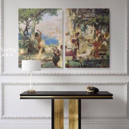 Henryk Hector Siemiradzki: Paitings Giclee Print on Canvas