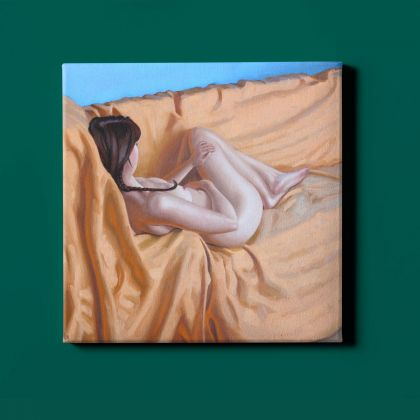 Artworks by Owen Claxton Photo Print on Canvas