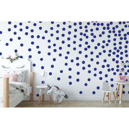 Set of Hand Drawn Dots 5cm Wall Decals - Peel and Stick Confetti Wall Stickers