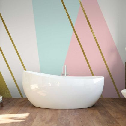 Pastel Colour Abstract Wallpaper Abstract Design Non metallic Gold Removable Wallpaper Self Adhesive Peel and Stick For Wall Decoration
