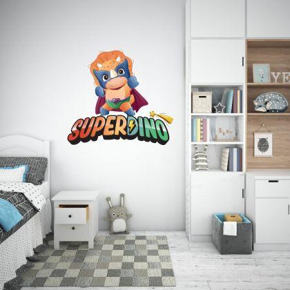 Superdino Wall Decal for Kids Room Jurassic Park