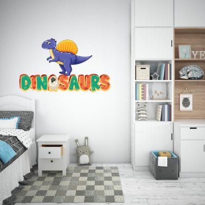 Spinosaurus Dinosaur Wall Decal for Kids Room Jurassic Park