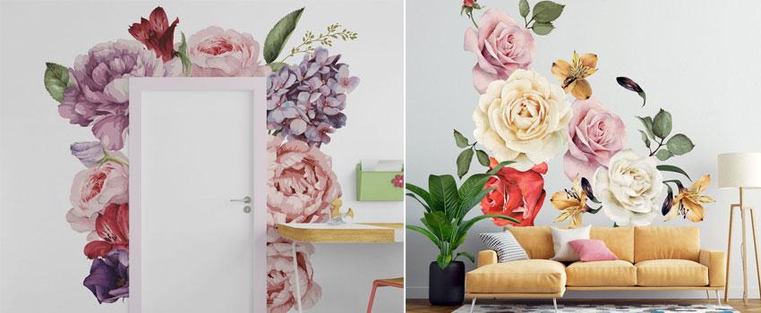 A Few Home Decor Ideas Using Wall Decals