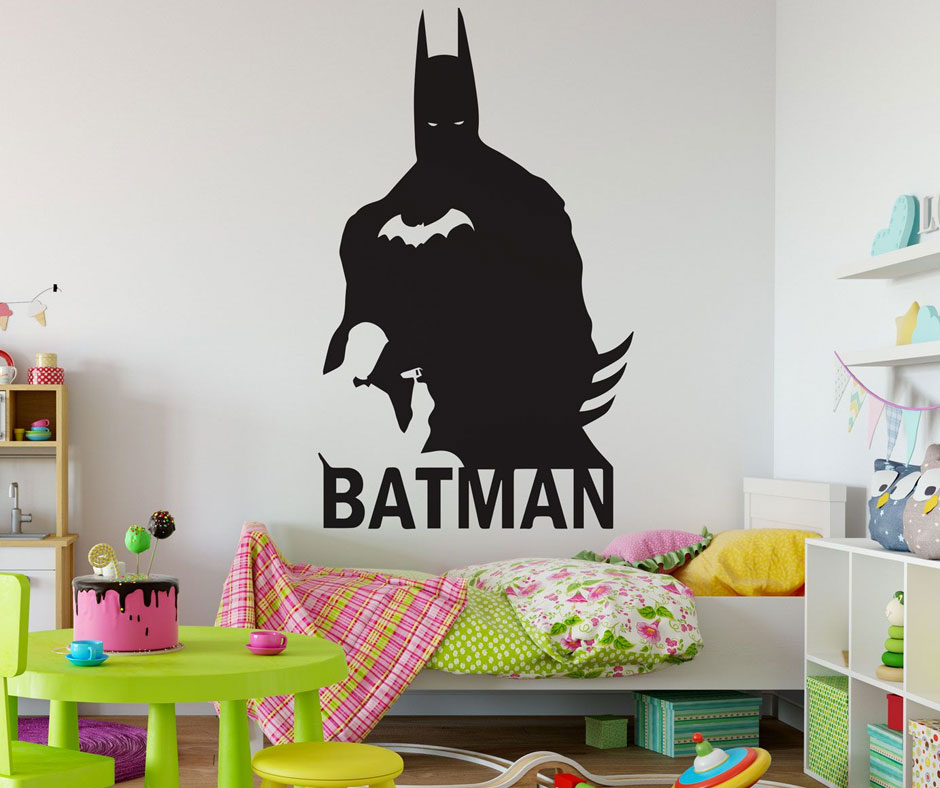 Make Your Kid's Room Fun and Magical with Superhero Wall Decals