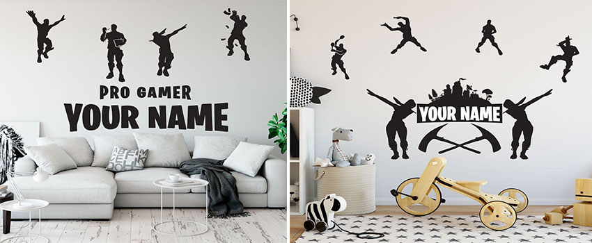 Why do kids love Fortnite wall stickers ?