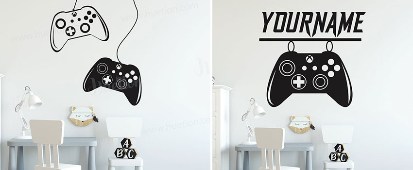 Gamer Wall Decals That You Shouldn't Miss