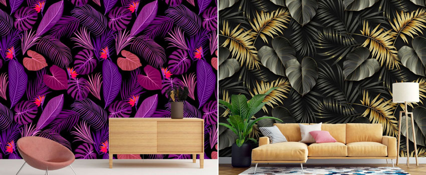 Theming your Bedroom with Tropical Wall Mural