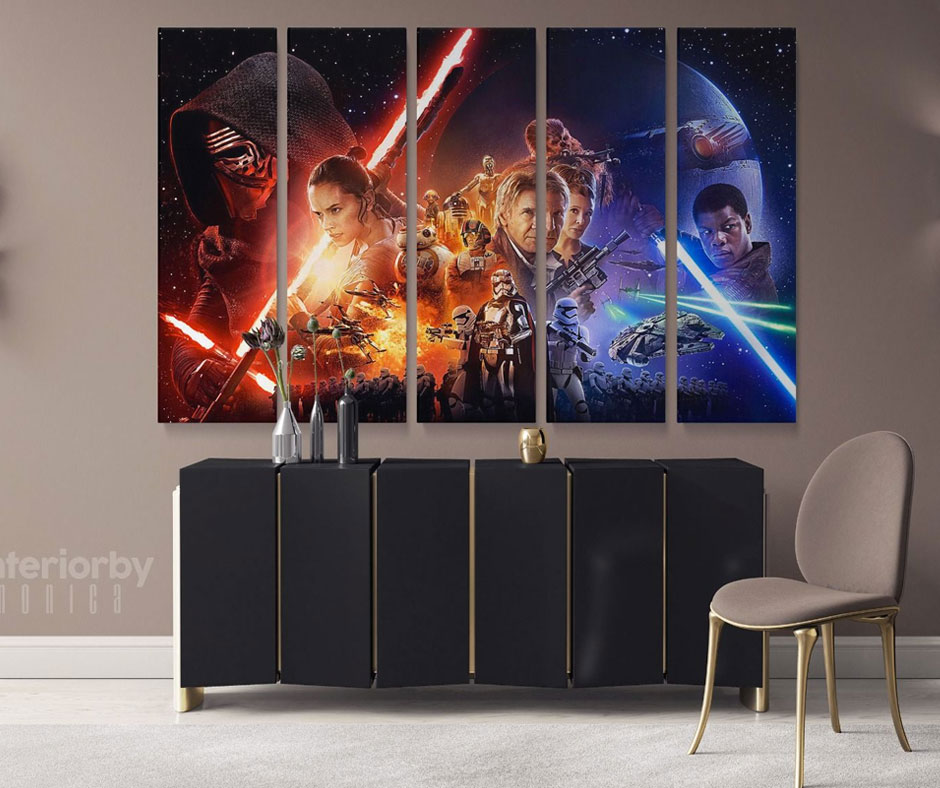 Pep Up Your Living Room with Movie Canvas Art