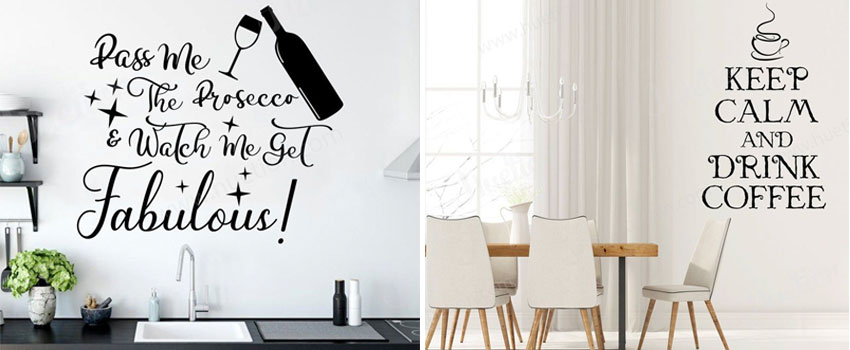 The Importance Of Having A Kitchen Wall Decal