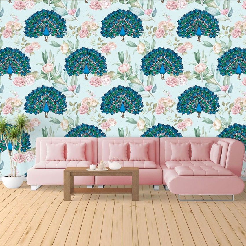 Oomph Up Your Space with a Tropical Wall Mural!