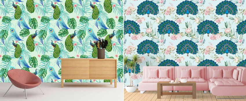 Vintage Wall Mural Inspirations
