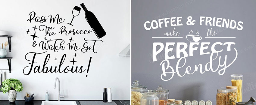 Which Type Of Wall Stickers Are Perfect For The Kitchen?