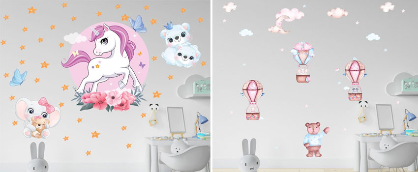 What Are The Different Types Of Wall Stickers?