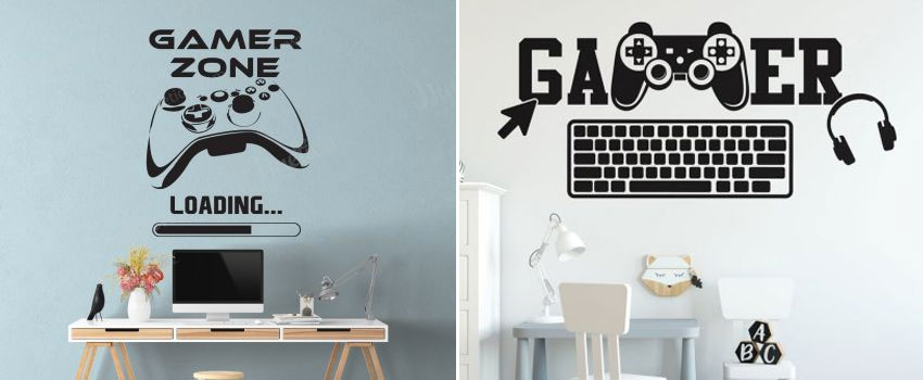 Where Can I Find Video Game Wall Decals?