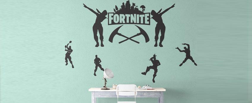 Buy Fortnite Wall Art Wall Sticker & Decals UK