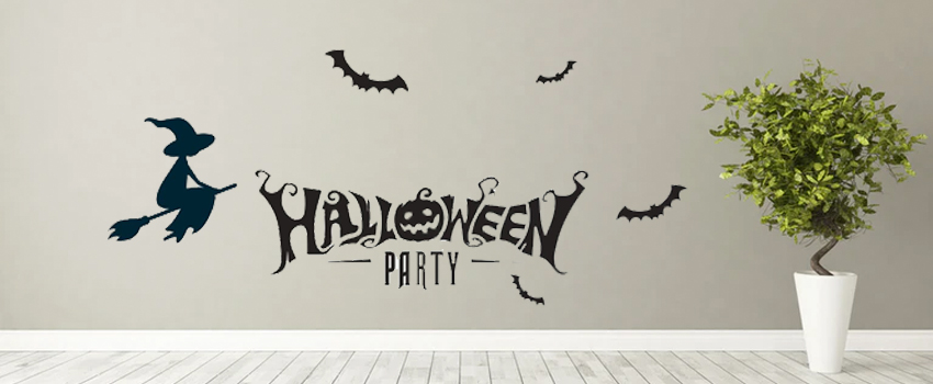 Halloween Decoration Ideas With Our Halloween Wall Stickers